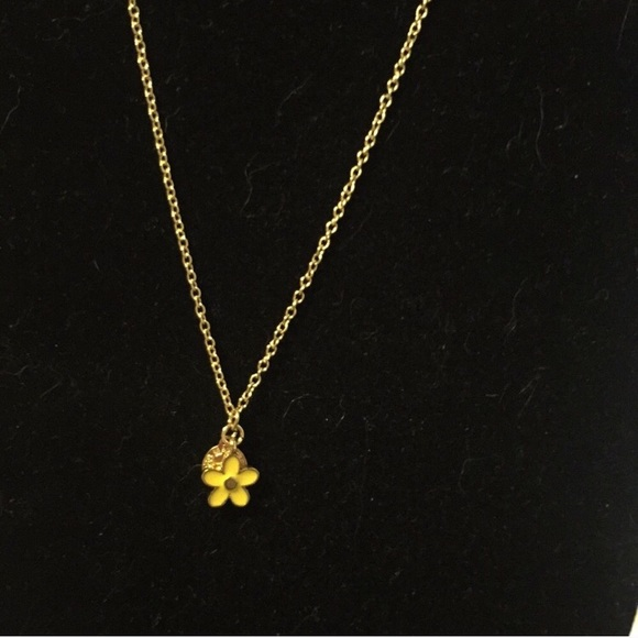 Marc by marc jacobs jewelry marc jacobs yellow flower necklace marc jacobs yellow flower necklace mightylinksfo